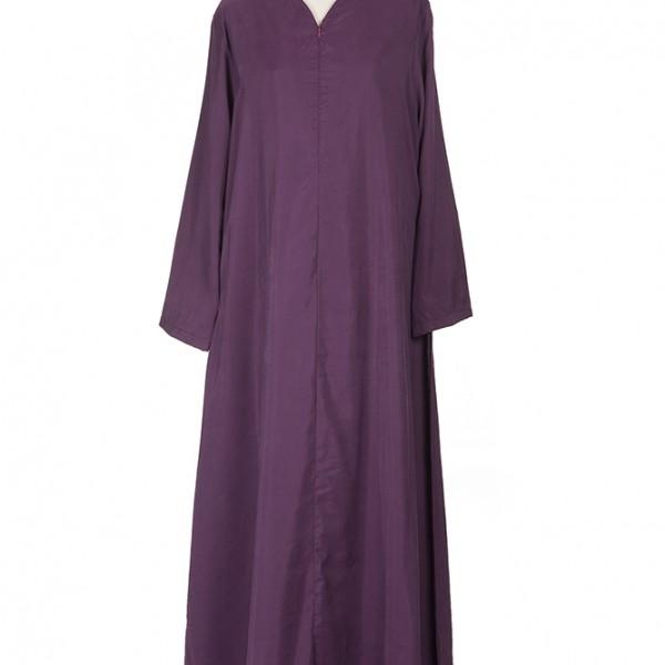 Jubah Nada Purple JUX0345A