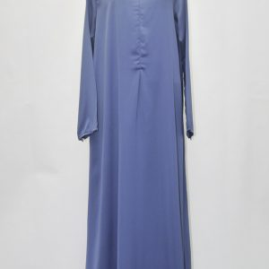jubah-satin-blue
