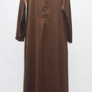 jubah-satin-brown