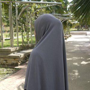 Hijab Grey HJQ0286A