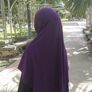 Hijab Syria Purple HJU0297A