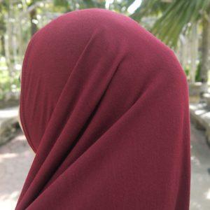 Hijab Syria Maroon HJM0297A