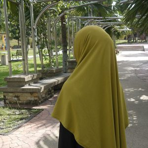 Hijab Syria Yellow HJY0297A